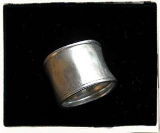 SILPADA PLAIN WIDE MODERN STERLING SILVER 925 BAND RING