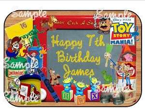 Sheet Toy Story Birthday Edible Frosting Cake Image