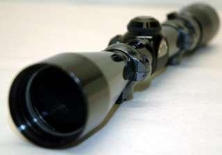 Gold   5 Star 3x 9x Rifle Scope & Leupold Rings Duplex   NR