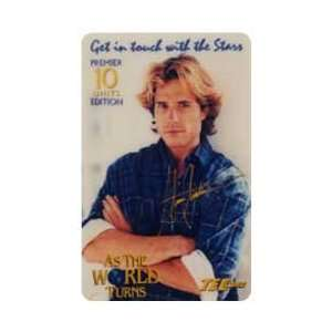 Collectible Phone Card 10u As The World Turns TV Show