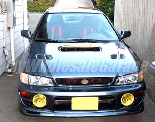97 01 Subaru Impreza to STI / WRX Style JDM Front Bumper Lip PU