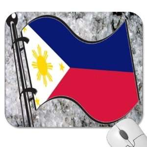 Mouse Pads   Design: Flag   Philippines (MPFG 153): Home & Kitchen
