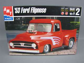 AMT ERTL 1953 Ford Flipnose Model Kit 1/25 Skill 2