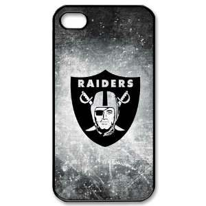 4s Covers Oakland Raiders logo hard case: Cell Phones & Accessories