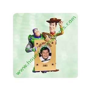 BUZZ LIGHTYEAR AND WOODY   TOY STORY   HALLMARK ORNAMENT