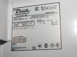 True T 49f Diagram Home and Garden Refrigerators and