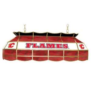 Flames Stained Glass 40 inch Lighting Fixture