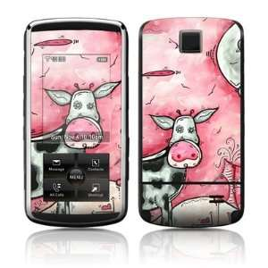 I Love Moo Design Protective Skin Decal Sticker Cover for