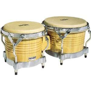 LP M201 Matador Wood Bongos Natural Musical Instruments
