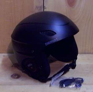 Phantom Audio Snowboard / Ski Helmet Sm. Med. Lg. XL Ipod  Black