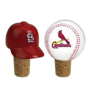 . Louis Cardinals MLB Wine Bottle Cork Set (2.25)