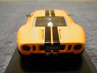 MINICHAMPS 1/43RD 2004 FORD MOTOR CO. EXCLUSIVE 2004 FORD GT.