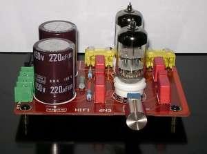 Pre Amp Amplifier Kit Tube 6N2 SRPP Good for DIY