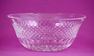 Large Waterford Cut Crystal Bowl   Cara