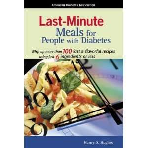 Last Minute Meals for People with Diabetes [Paperback