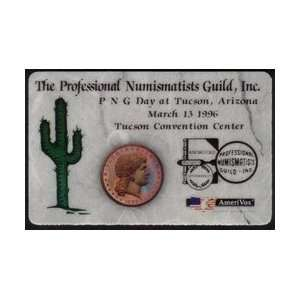 Collectible Phone Card The Professional Numismatists Guild (PNG Day