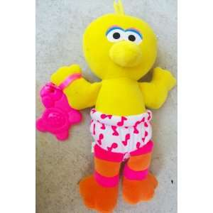 : Tyco, Sesame Street Baby Big Bird 12 Plush Doll Toy: Toys & Games