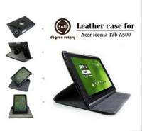For Acer Iconia Tab A500 Folio Stand 360 Leather Case Cover Bag