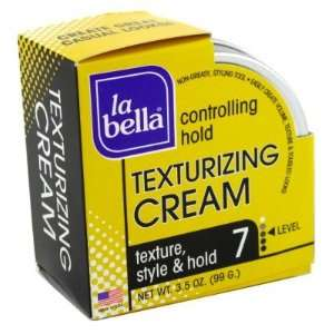 La Bella Texturizing Cream 3.5 oz. Can (Level 7) (3 Pack