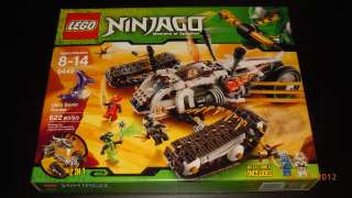LEGO Ninjago Ultra Sonic Raider (9449) NEW RARE Mini Figures Pythor 4