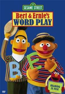 Sesame Street   Bert and Ernies Word Play (DVD)