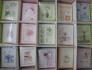 3D Handmade Wishes Birthday Greeting Cards 15p pack lot