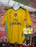 Nike ARSENAL Player Issue Football Shirt S/Sleeved L