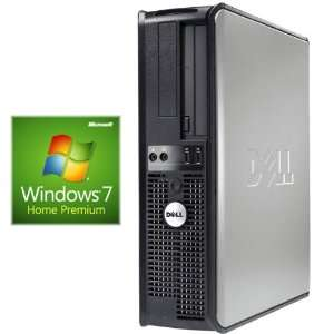 Dell 745 Desktop Dual Core 2 8Ghz 4GB RAM DVD Windows 7