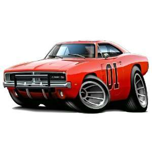Charger car HUGE 48 Wall Graphic Decal Sticker Home Game Room Decor