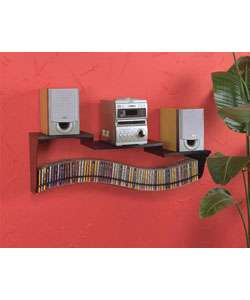 Wall mount Media Stereo Shelf  Overstock