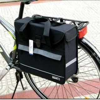 17L Cycling Bicycle Bag Bike rear seat bag pannier waterproof free