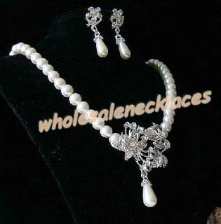 10Sets Mix Style Rhinestone&imitation pearls Necklaces