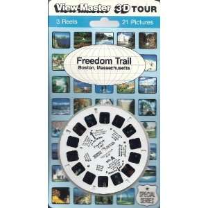 Freedom Trail   Boston Massachusetts 3d View Master 3 Reel