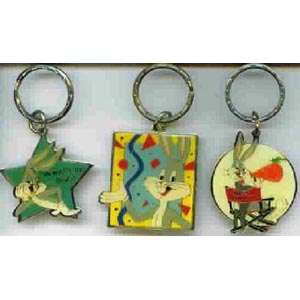 Looney Tunes Bugs Bunny Keychains Set 2 (3)