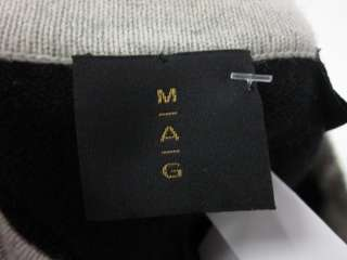 MAG BY MAGASCHONI Black Short Sleeve Sweater Sz M