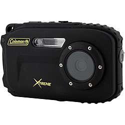 Coleman Xtreme 12MP Waterproof Black Digital Camera