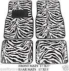 cool blk zebra insert front car seat covers,choose color matching item