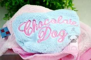 pet dog cat clothing clothes coat hoodies super warm fleece yfd47