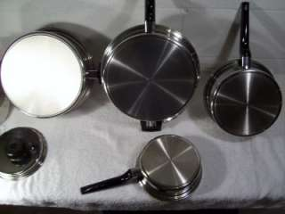 Prestige Stainless Steel Cookware Titanium Silver Alloy Copper
