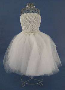 Wedding Bridal Dress Form Centerpiece Tulle Handcrafted
