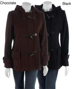 MICHAEL Michael Kors Womens Hooded Duffel Coat