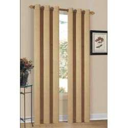 Bahamas Grommet 84 inch Curtain Panel