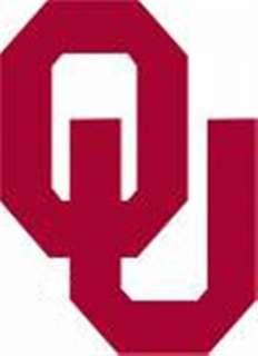 OU OKU Oklahoma Sooners football logo vinyl sticker 538