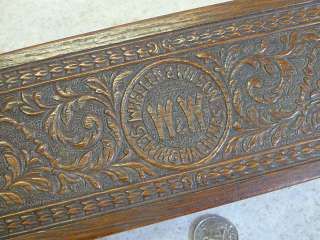 Old Vintage WW Wheeler Wilson Sew Sewing Machine Dovetailed Oak