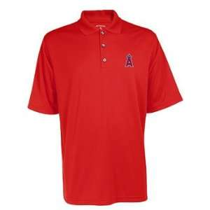 Los Angeles Angels Antigua Mens Exceed Polo Sports