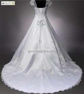 Wonderful White/Ivory Bride Wedding/Prom Dress Size2 28