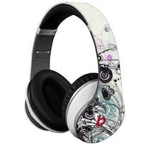 Decal Skins for Monster Beats Studio by Dr Dre CHOOSE 3 DESIGNS
