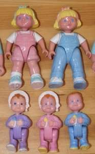 PRICE LOVING FAMILY PEOPLE BABY TWINS GIRLS MOM DAD dollhouse