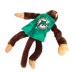 NFL Miami Dolphins Plush Flying Monkey Stuffed Animals: Home & Kitchen
