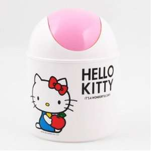 Hello Kitty Mini Trash Can Toys & Games